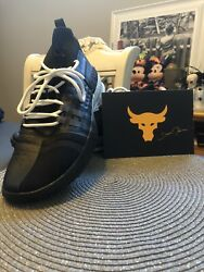 Size 12 Mens Under Armour Project Rock 1 Black $71.00