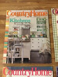 COUNTRY HOME MAGAZINE. LOT OF 4. $9.99