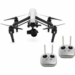 DJI Inspire 1 RAW Quadcopter with Zenmuse X5R 4K Camera amp; 2 Remotes $2499.00