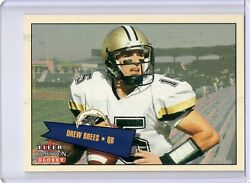 2001 FLEER TRADITION GLOSSY #402 DREW BREES ROOKIE RC # to 2001 SAINTS $49.95