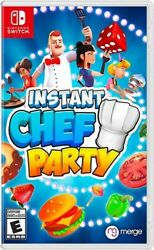 Instant Chef Party for Nintendo Switch Standard Edition New Video Game $34.98