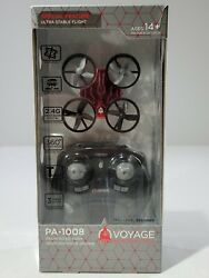 Voyage Aeronautics Micro Drone with Remote Red Palm Sized High Performance $19.99