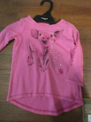 Carhartt Girls Long Sleeve top 6M $12.00