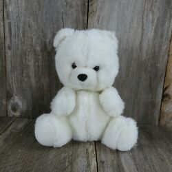 Vintage Bear Puppet Plush White Polar Stuffed Animal Body $54.99