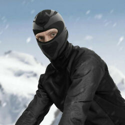 Cycling Windproof Balaclava Caps Warm Thermal Fleece Hiking Full Face Cover Hats $13.48