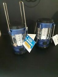 quot;Twoquot; LED Lanterns AA battery operated *SUPER BRIGHT* Adjustable light $14.95