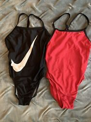 Lot of 2 Nike swimsuits for Women Size 6 amp;10 Good used conditon $12.99