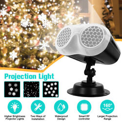 Waterproof Christmas LED Projection Light Xmas Holiday Party Lamp Remote Control $49.99