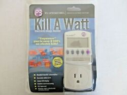 P3 International P4400 Kill A Watt Electricity Usage Monitor Brand New Sealed $35.00