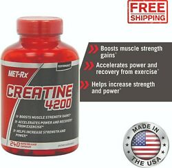 Creatine 4200 Supplement Supports Muscles Pre Post Workout Recovery Capsules $10.31