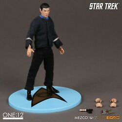 Mezco One:12 Star Trek Spock The Cage Variant Brand New Sealed Free Shipping $119.99