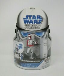 Clone Trooper Officer Red SL No.12 STAR WARS The Legacy Collection MOC $26.49