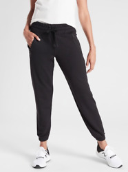 ATHLETA Recover Bounce Back Jogger Pant Black S Small NWT #487575 Casual Workout $54.00
