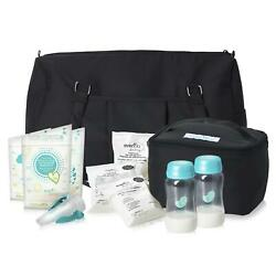 Evenflo Breast Pump Accessories Milk Storage Bags Collection Bottles Adapters $59.39