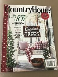COUNTRY HOME WINTER 2020 $13.50