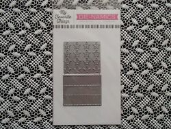 My Favorite Things Die Namics Stitched Star Grid NIP $12.99