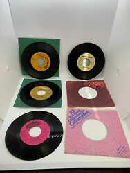 Vintage 45RPM Tiny Tim Tiptoe Thru the Tulips With Me and 3 Extra 45RPMs $9.99