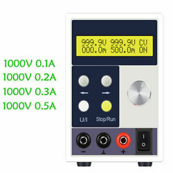 220V Adjustable 1000V 0.1A 0.2A 0.3A 0.5A Programmable DC Regulated Power Supply $394.99