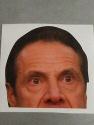Andrew Cuomo Peeping Window Cling Governor Watching NYS  Free Ship $9.00