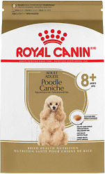 Royal Canin Poodle 8 Breed Specific Dry Dog Food for Senior Dogs 3 lb. bag $28.96