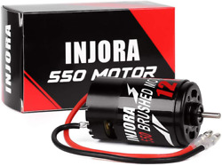 INJORA RC Motor 550 Brushed Motor for 1 10 Short Course Truck Traxxas Slash VKAR $26.16
