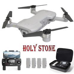 Holy Stone HS510 Foldable Drone 4K HD Wifi Camera Quadcopter FPV GPS Tapfly Case $199.99