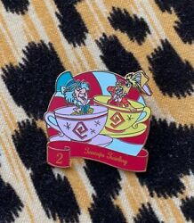 Disney 12 Days Of Christmas Pin 2020 Alice In Wonderland Mad Hatter Teacups #2 $16.50