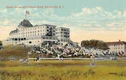 Watch Hill Rhode Island Ocean House and Athletic Field Vintage Postcard AA24516 $12.75