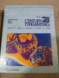 Vintage Century 21 Typewriting Complete Course School Book Hardcover 3rd edition $15.99