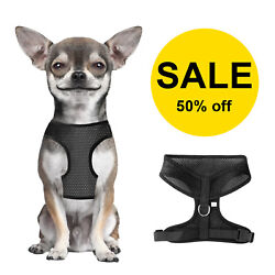 No Pull Mesh Soft Puppy Pet Small Dog Harness Adjustable Control Vest Breathable $5.95