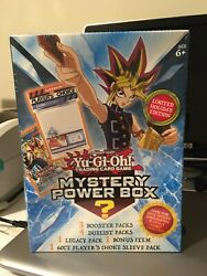 Yu Gi Oh Cards Mystery Power Box Holiday Limited Edition 2019 Brand New RARE 🔥 $44.90