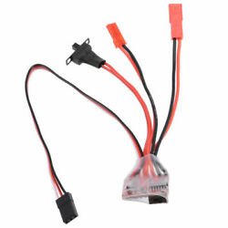 20A Mini ESC For Brushed Motor 2S Compatible JST Plugs for WPL MN JJRC etc. GBP 7.50
