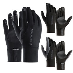 Winter Gloves Touch Screen Cold Weather Windproof Warm Workout Running Cycling $10.99