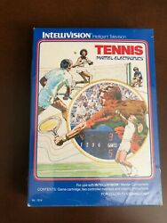 Tennis for Intellivision from Mattel Electronics International edition NIS $5.99