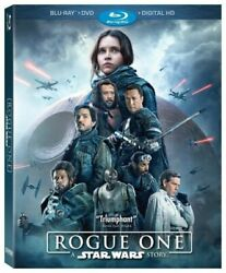 Rogue One: A Star Wars Story Blu ray Disc 2017 3 Disc Set $11.50
