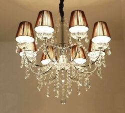 Crystal Chandelier Lights Fixtures LED Modern Flush Mount Touch On Off Switching $325.49