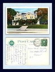 RHODE ISLAND WESTERLY COLONIAL CLUB 1916 TO M.D. BAILEY MIDDLETOWN CONNECTICUT $18.99