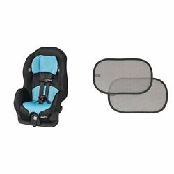 Evenflo Tribute LX Convertible Car Seat Neptune with 2 Piece Car Window Cli... $112.86