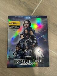 Rogue One: A Star Wars Story Blu ray Disc 20172 Disc Set $6.50