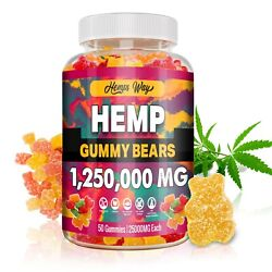 Natural Gummies Great Relief for Pain Stress amp; Anxiety Vitamin Sleep Bear $24.99