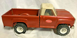 Collectible VTG Pressed Steel Tonka Toy Pick Up Truck Orange XR 101 11062 $99.95