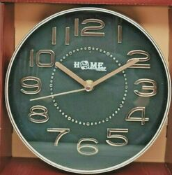 7.9 Inch Round Wall Clock Silent Non Ticking Quartz Battery Easy to Read $12.99