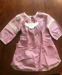 Paper Wings Lace Trim Dress NWT GIRLS $13.00