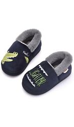 Holynissl Boys Slipper Warm Fur House Slipper for Kids Non Slip Toddler $15.00