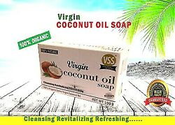 Virgin Coconut Oil Soap 100% Natural ORGANIC Toilet Soap No Preservatives $13.52