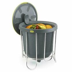 Polder Kitchen Composter Flexible Silicone Bucket Easy Emptying amp; Cleaning B70 $29.00