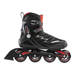 Rollerblade Pro XT Adult Men#x27;s Inline Skates Size 8 Black and Red Open Box $39.99