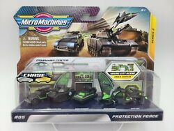 2020 Micro Machines Series 2 #06 PROTECTION FORCE Micro City Scene FREE SHIPPING $22.94