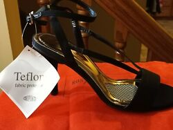 NEW Ros Hommerson womens dress shoes high heel Ankle strap sandal 9.5 W $16.90