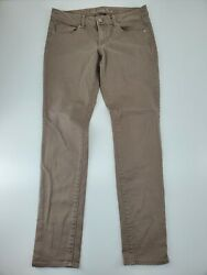 American Eagle Womens Low Rise Tan Stretch Jegging Pants Size 8 31x32 $16.99
